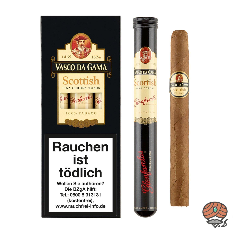 Vasco da Gama Corona Scottish (Whisky) Nr. 85 Zigarren, 3 Stück