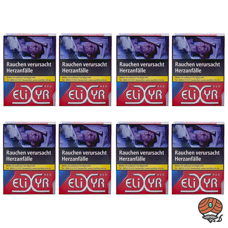 1 Stange Elixyr Red Full Flavor Zigaretten XL Schachtel 8x22 Stück