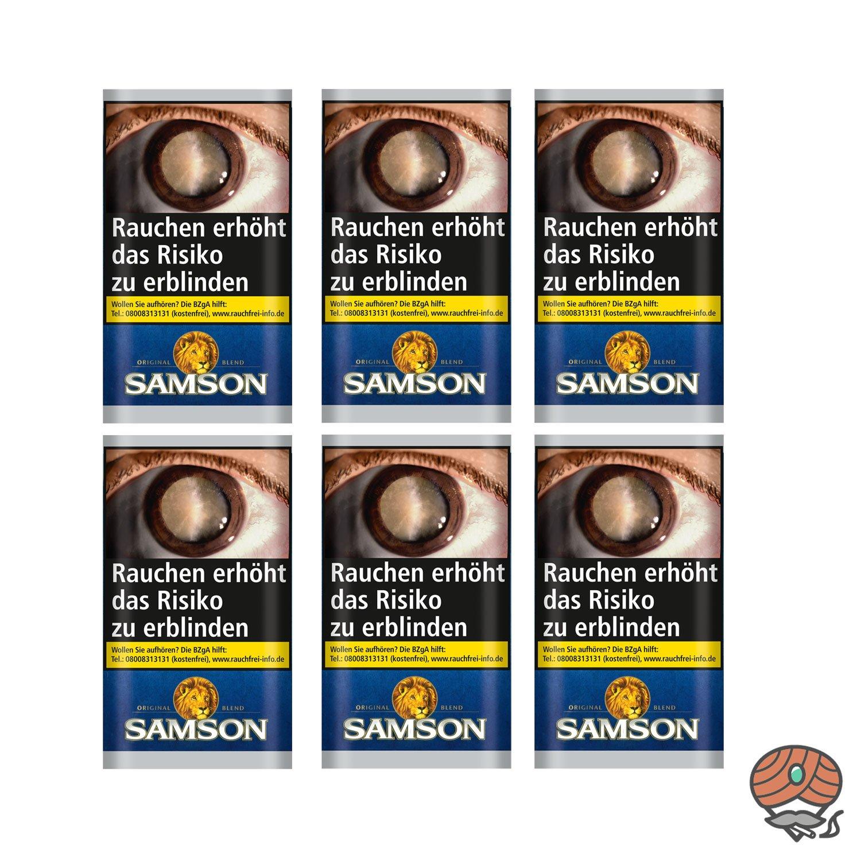 Samson Original Blend Drehtabak 6 x 30g Beutel = Stange