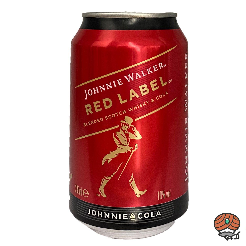 Johnnie Walker Red Label & Cola, 330 ml Dose, 10 Vol.-%