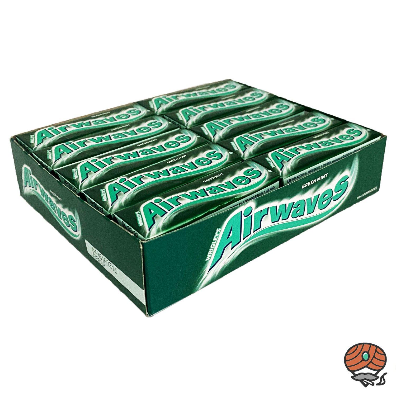 30 x Wrigley`s Airwaves Green Mint Kaugummi Dragees