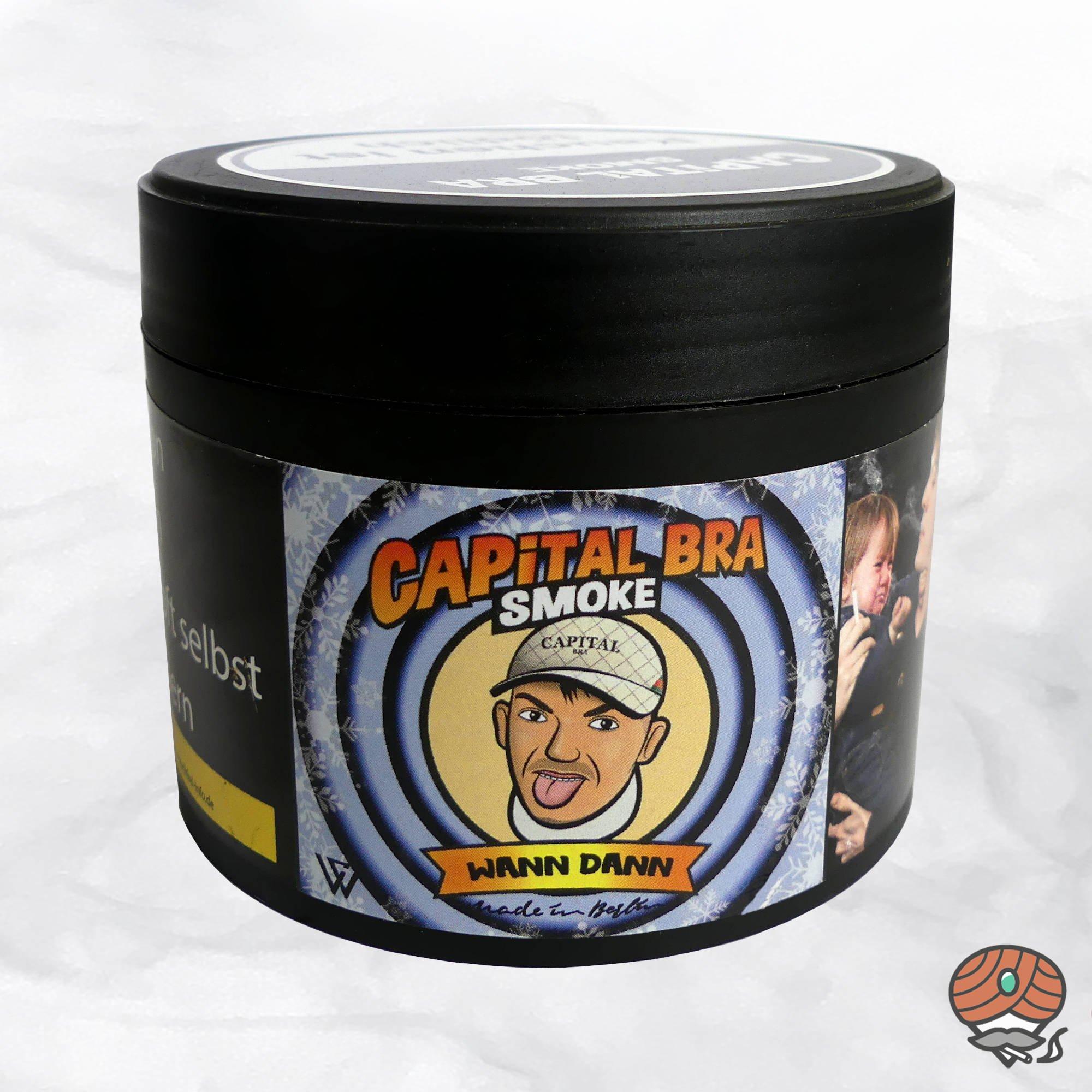 Capital Bra Smoke Shisha Tabak - Wann Dann 200g