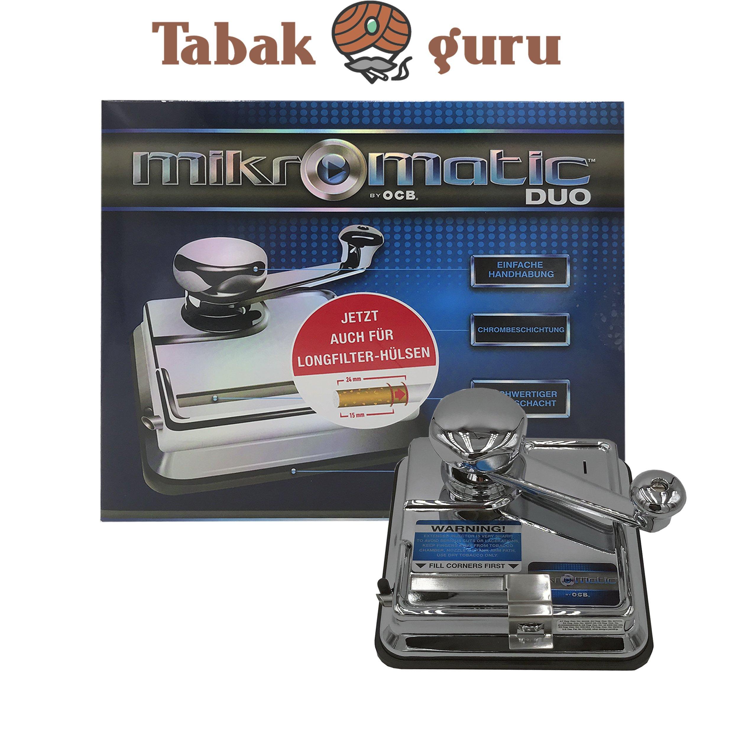 OCB Micromatic DUO Stopfer Mikromatic Zigarettenmaschine Stopfmaschine