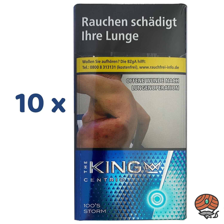 The KING CENTRIO 100´S STORM 1 Stange Zigaretten à 20 Stück