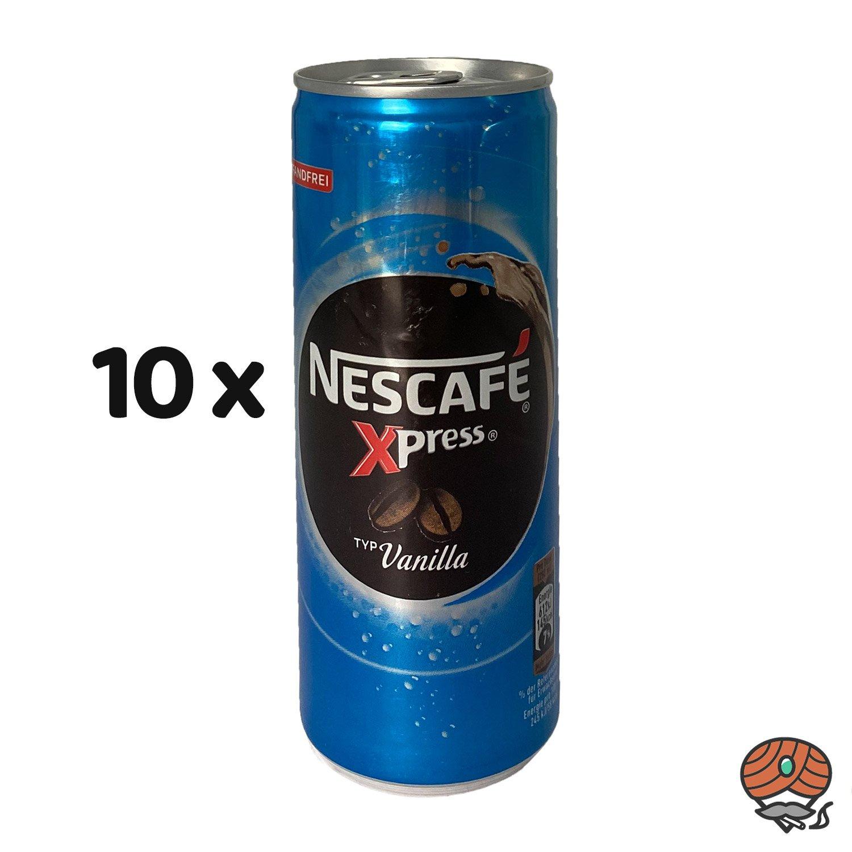 10 x Nescafé Xpress Typ Vanilla, 250 ml Dose