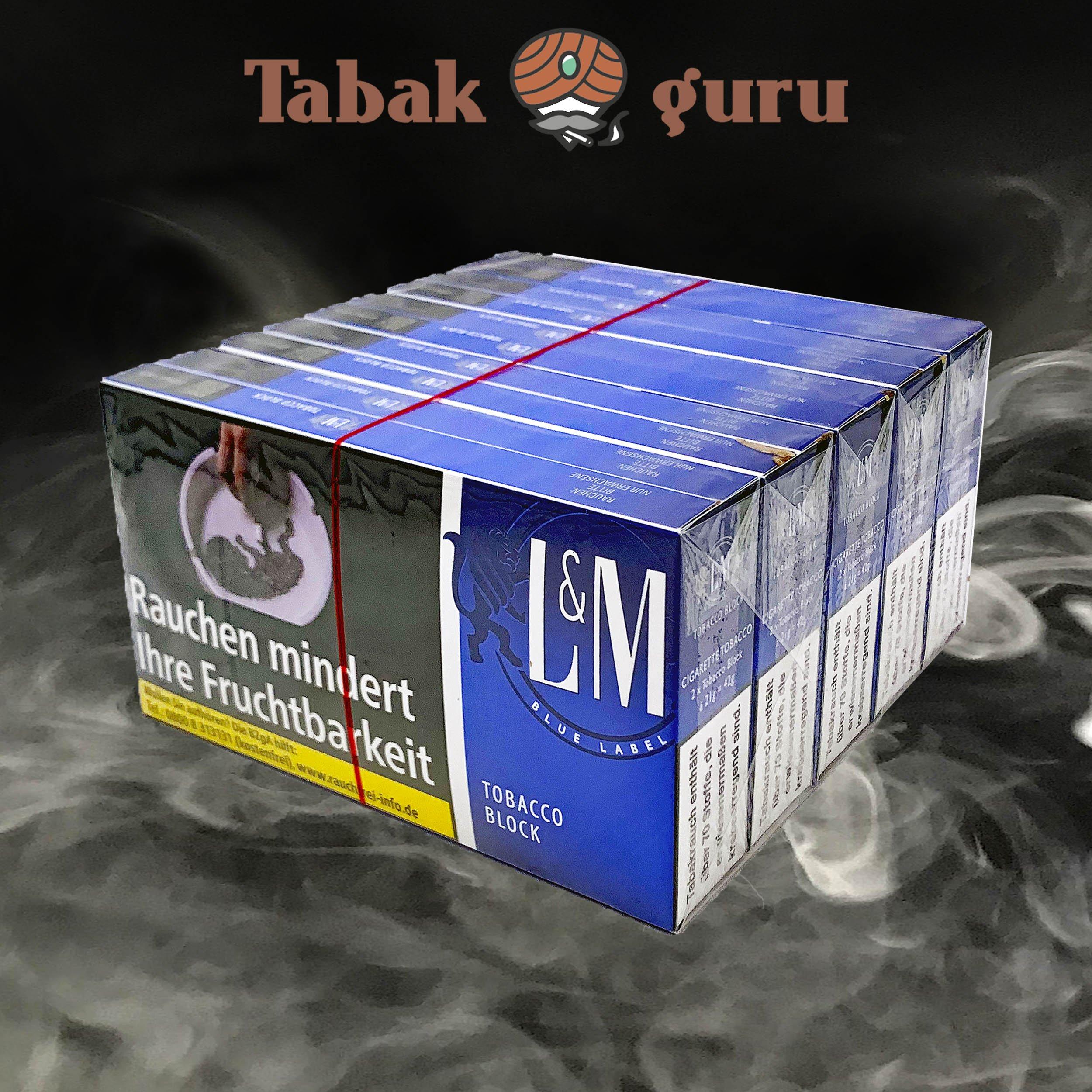 L&M Blue Tobacco Bloick