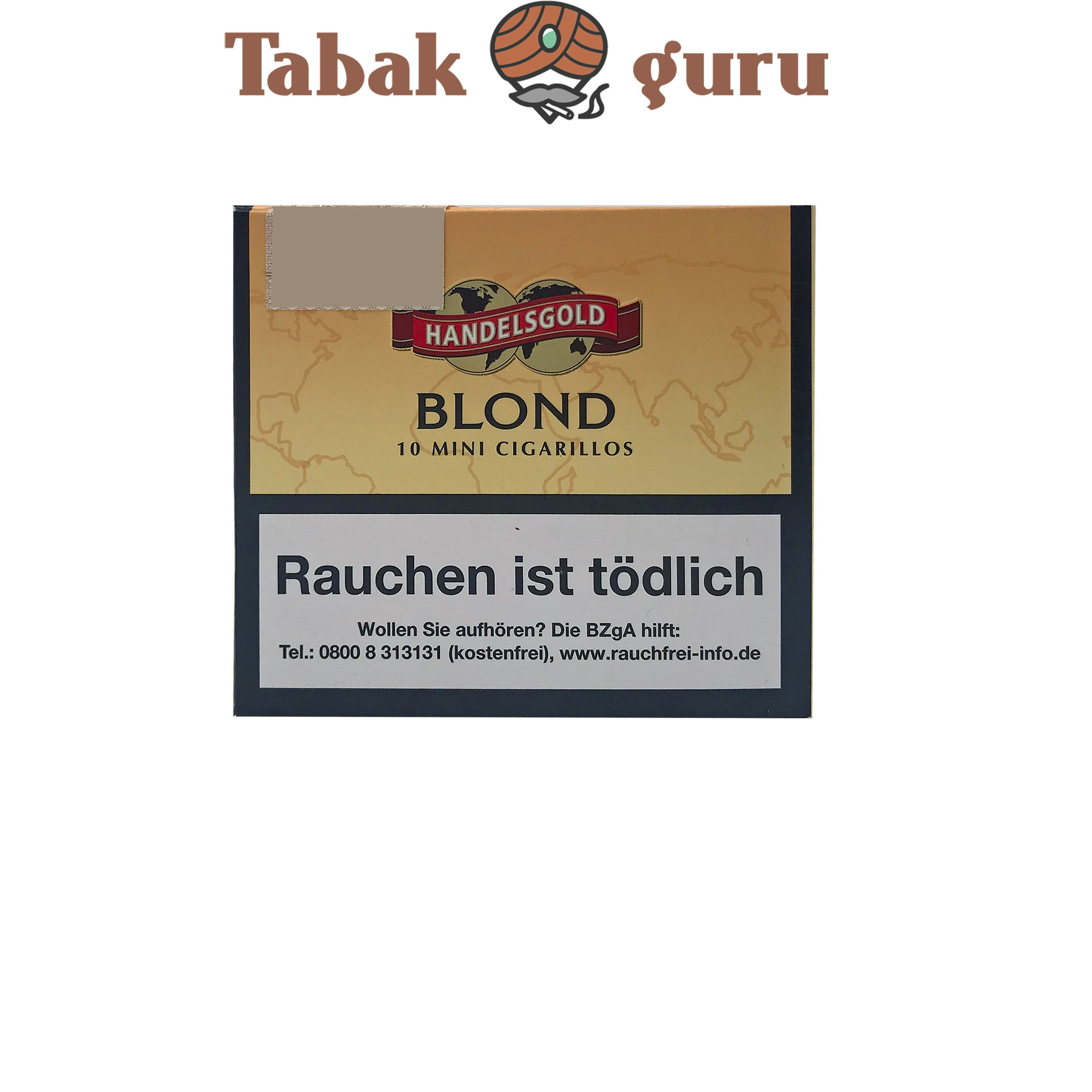 Handelsgold Mini Blond No. 261 (Vanilla) Filterzigarillos a 10 Stück