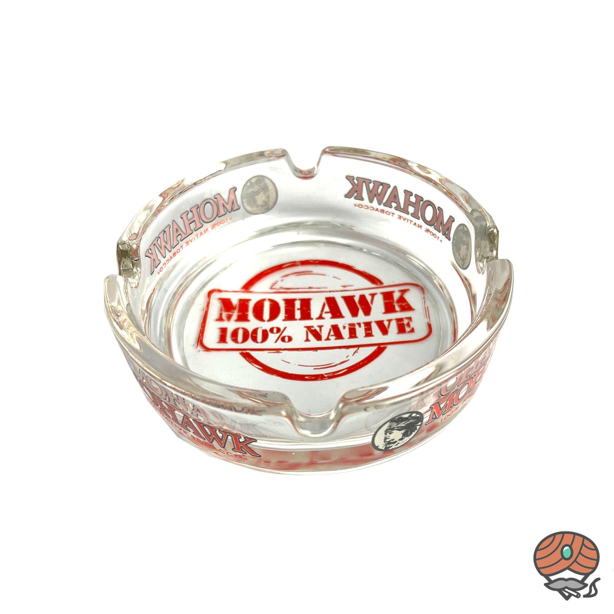 Mohawk Glasaschenbecher Durchmesser 10,5 cm
