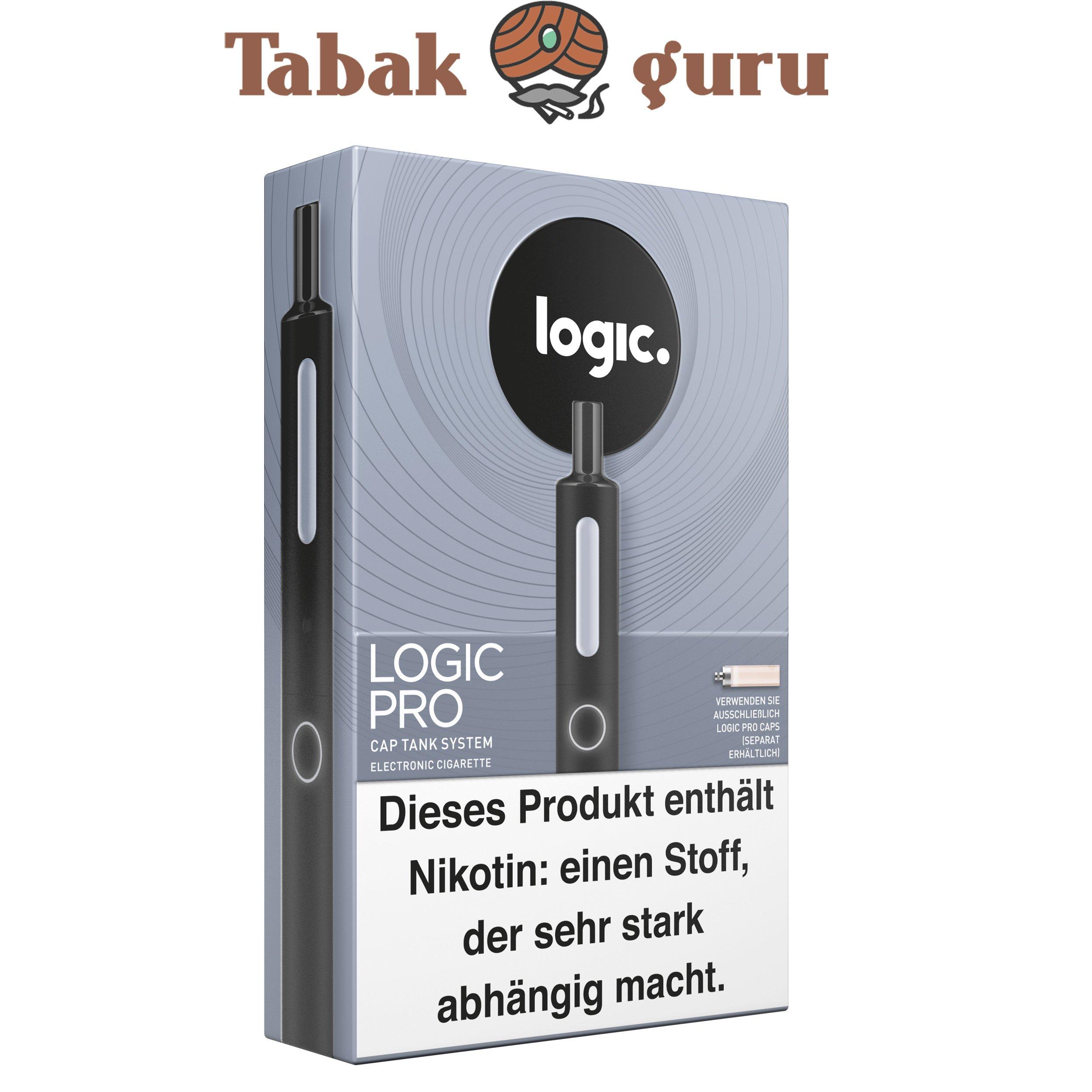 Logic Pro Cap Tank System Starterset Schwarz
