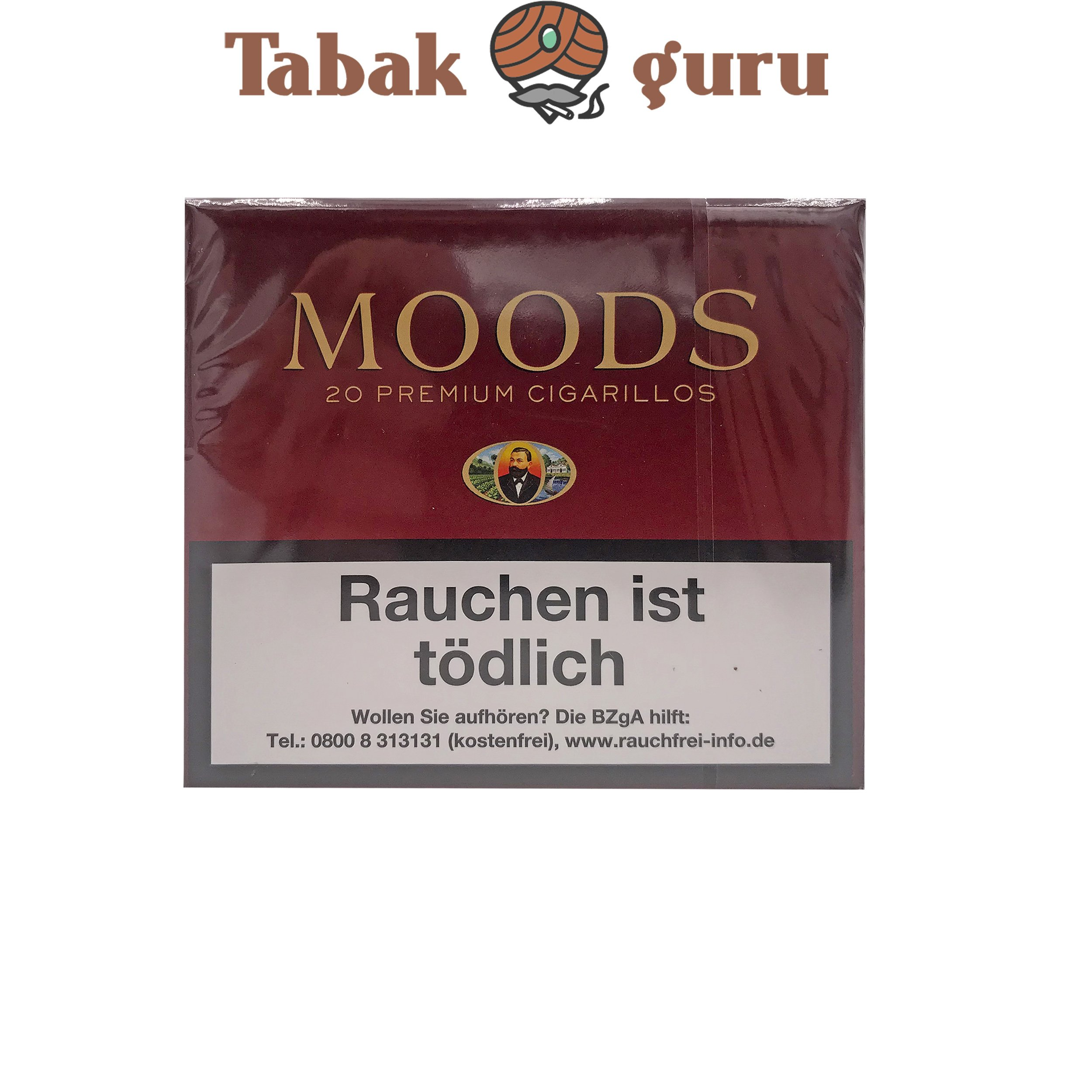 Moods Zigarillos ohne Filter a 20 Stück