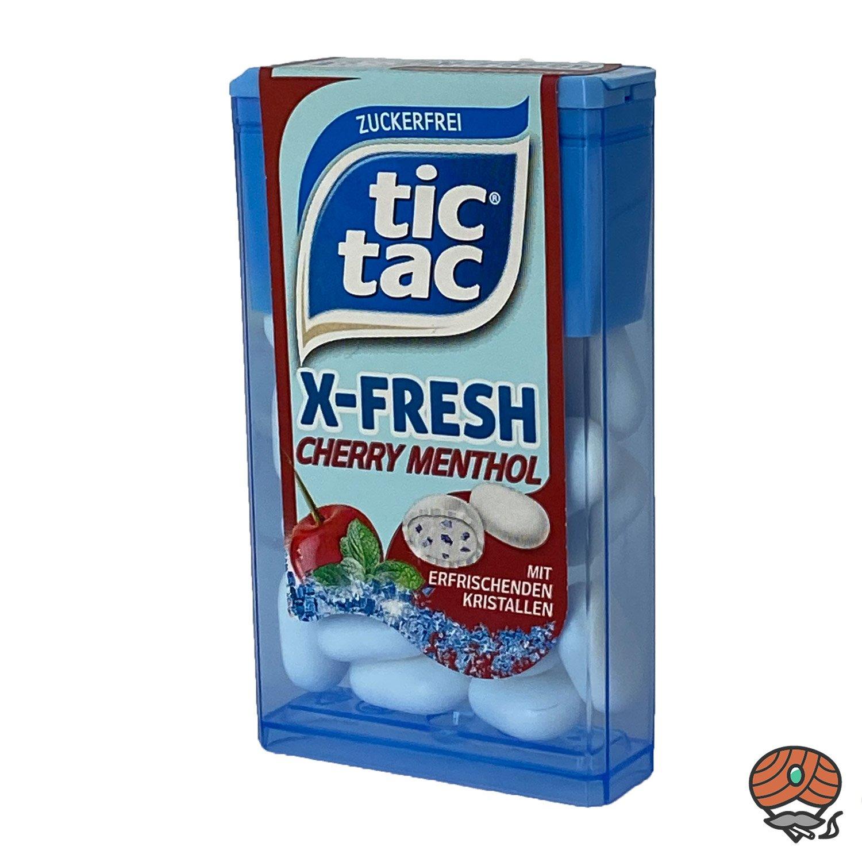 Tic Tac X-Fresh, Cherry Menthol Dragee 16,4 g
