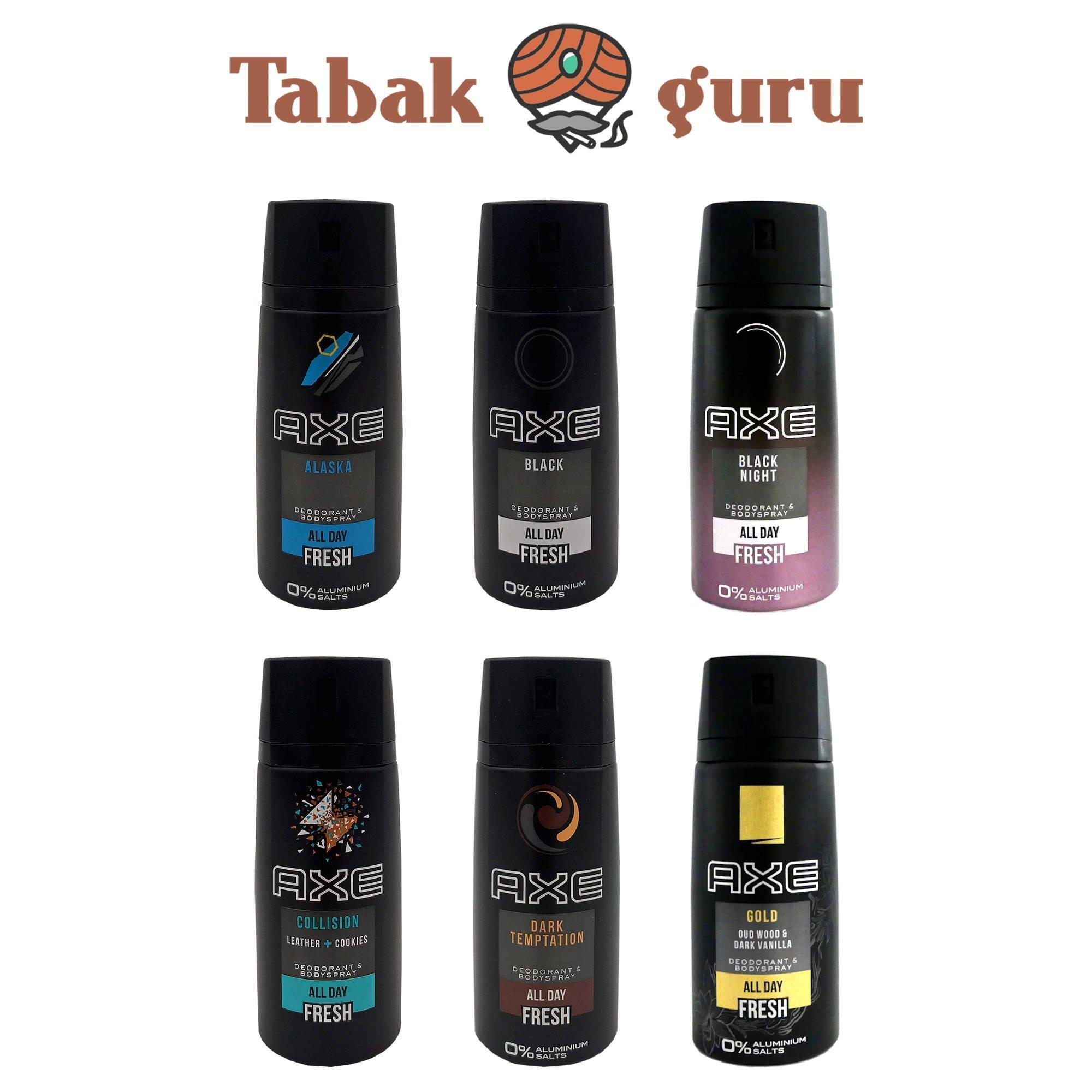 6x Axe Deo Deodorant Deospray Bodyspray á 150 ml