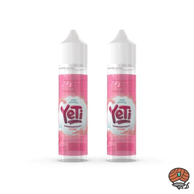 2 x YeTi Longfill Passionfruit Lychee 15 ml