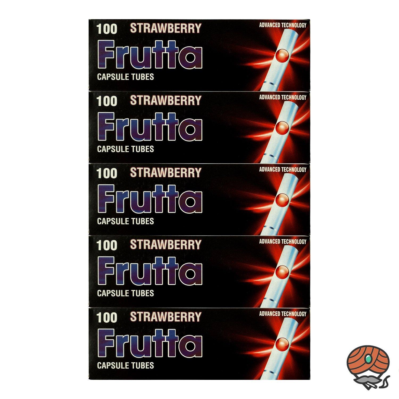 5 x Frutta Strawberry / Erdbeere Click-Zigarettenhülsen