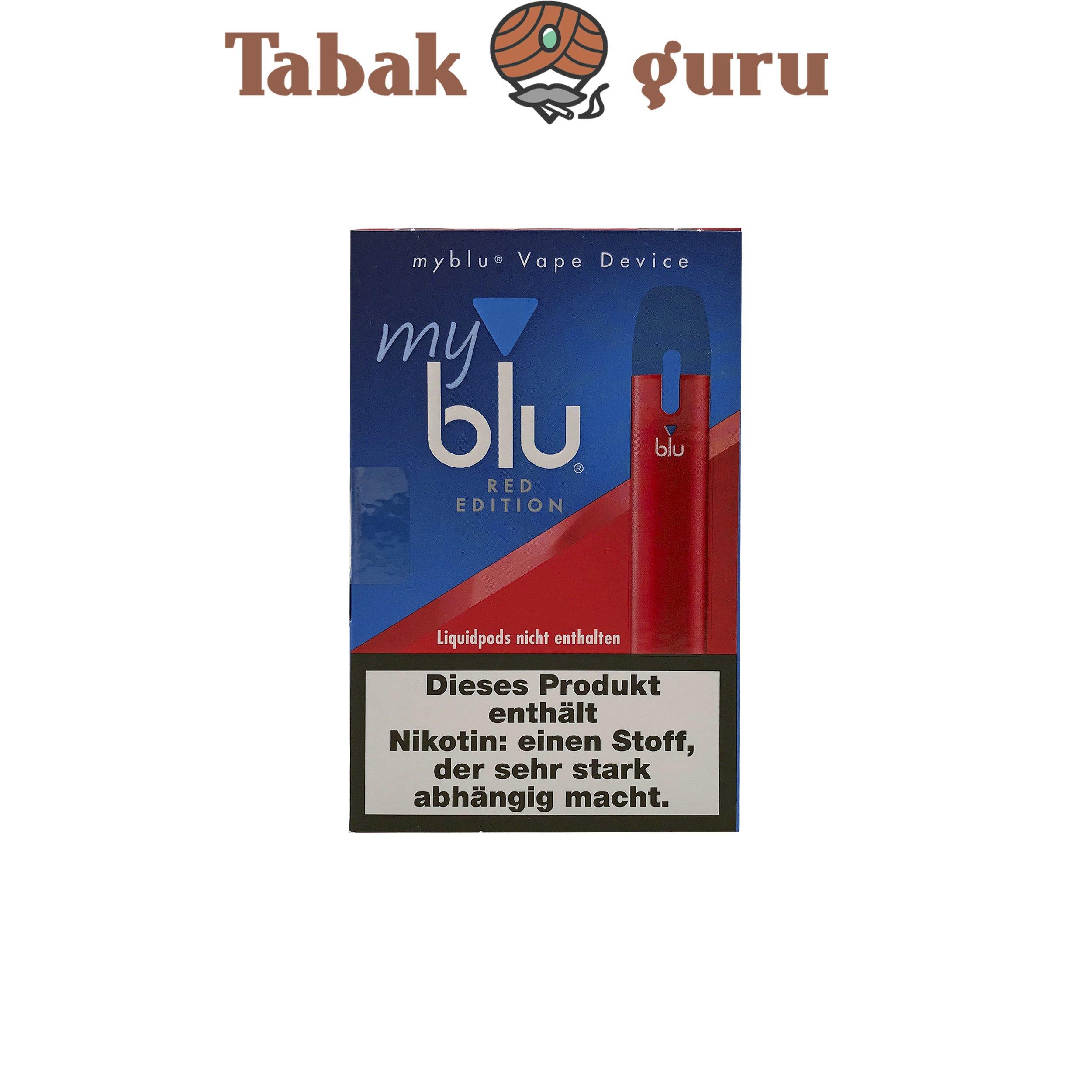 My Blu Vape Device Red Edition