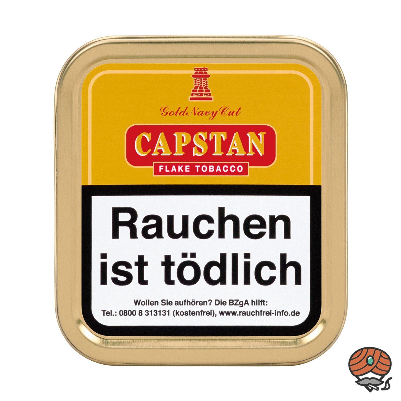 Capstan Gold Navy Cut Flake Tobacco Pfeifentabak 50 g