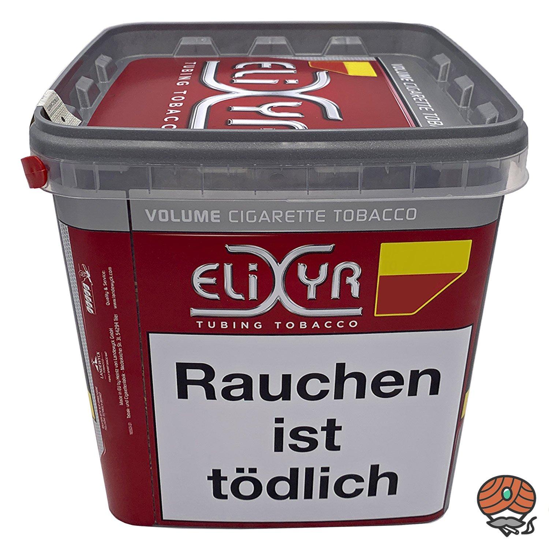 4 x Elixyr Red / Rot Volumentabak Eimer à 320g (ehemals Elixyr Purple)