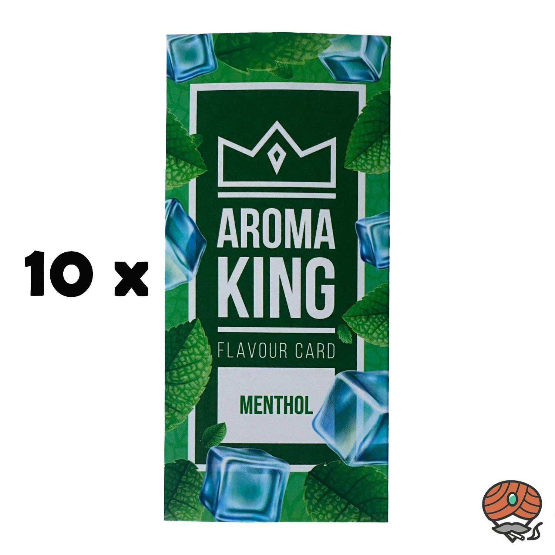 10 x Aromakarte MENTHOL von Aroma King - Aroma für Tabak & Zigaretten