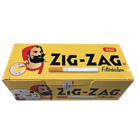 250 Zig-Zag King Size Filterhülsen