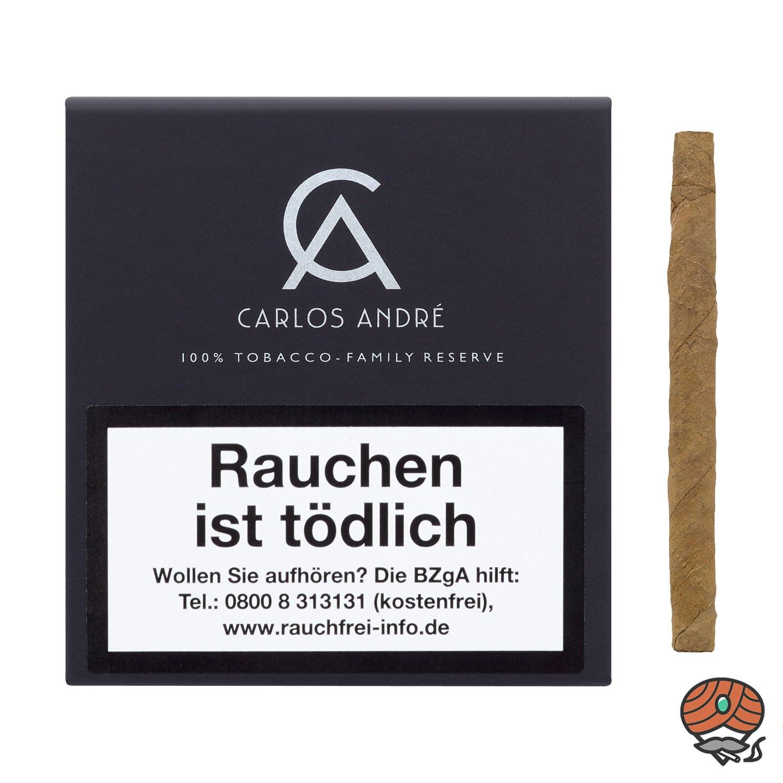 Carlos André Family Reserve Zigarillos 100% Tabak Nr. 488 à 20 Stück