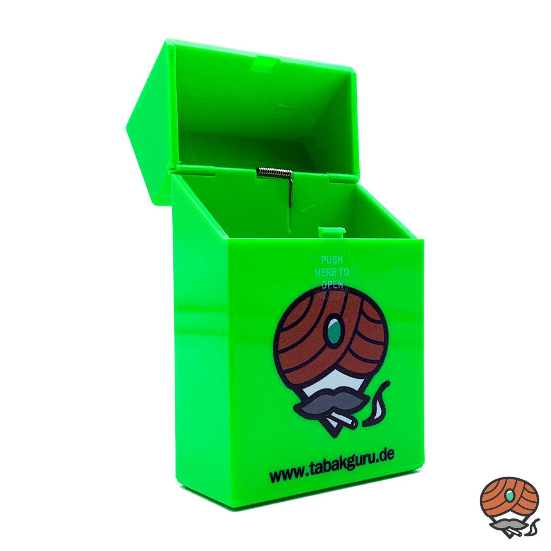 Atomic Sprungdeckel Zigarettenbox Tabakguru Motiv Farbe nicht wählbar
