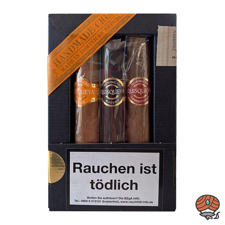 3 Quisqueya Robusto Zigarren im 3 er Sampler
