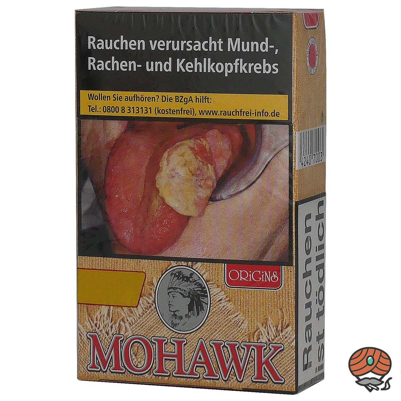 Mohawk Origins Red Filterzigaretten OP 20 Stück