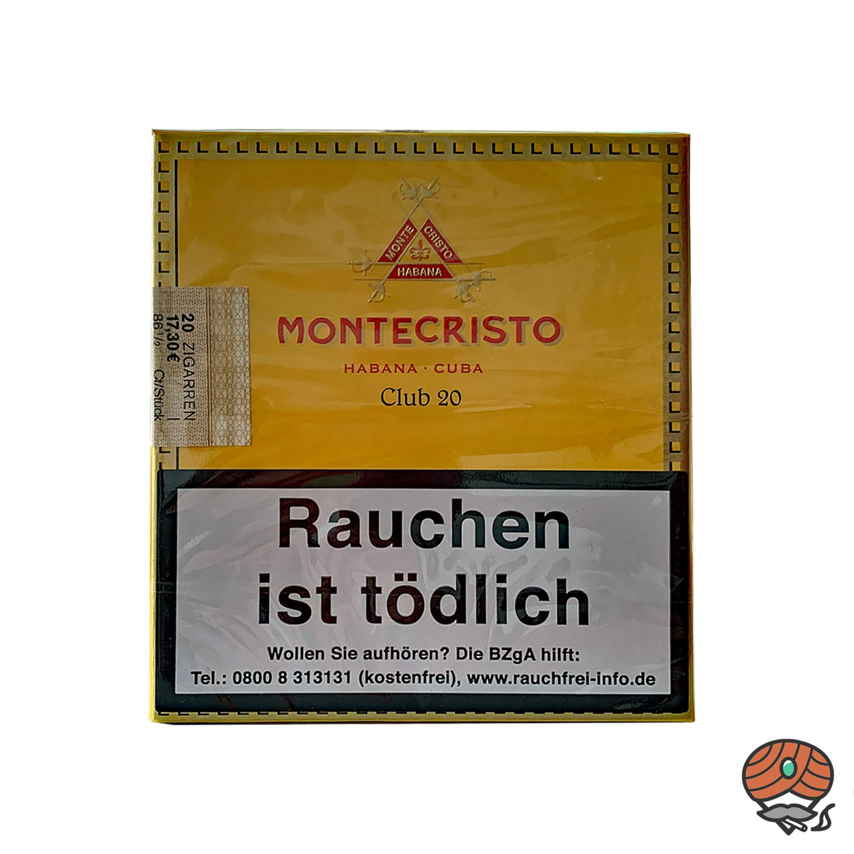 Montecristo Club Zigarillos 20 er Schachtel