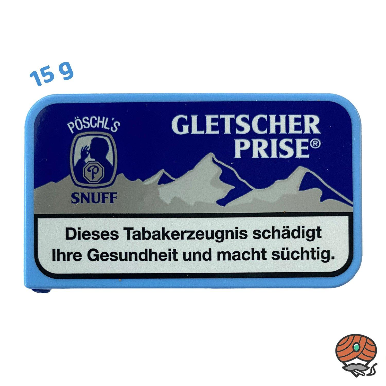 Gletscherprise Snuff Schnupftabak 15g Dose