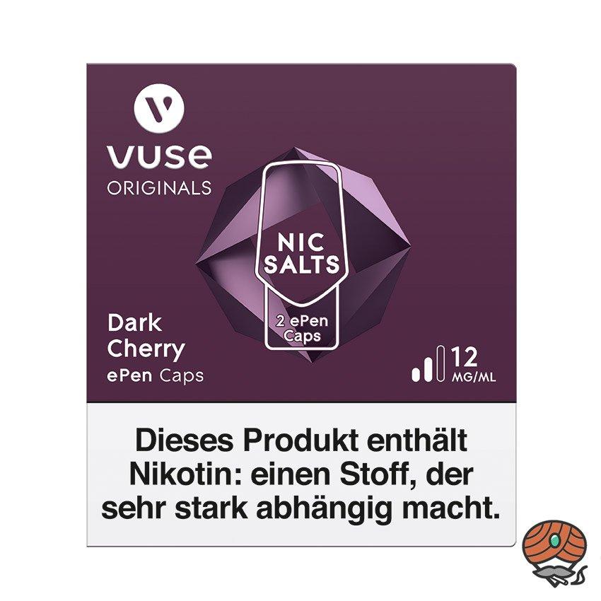 Vuse ePen Caps 1x Dark Cherry 12 mg/ml à 2 Caps (ehem. Vype ePen3)