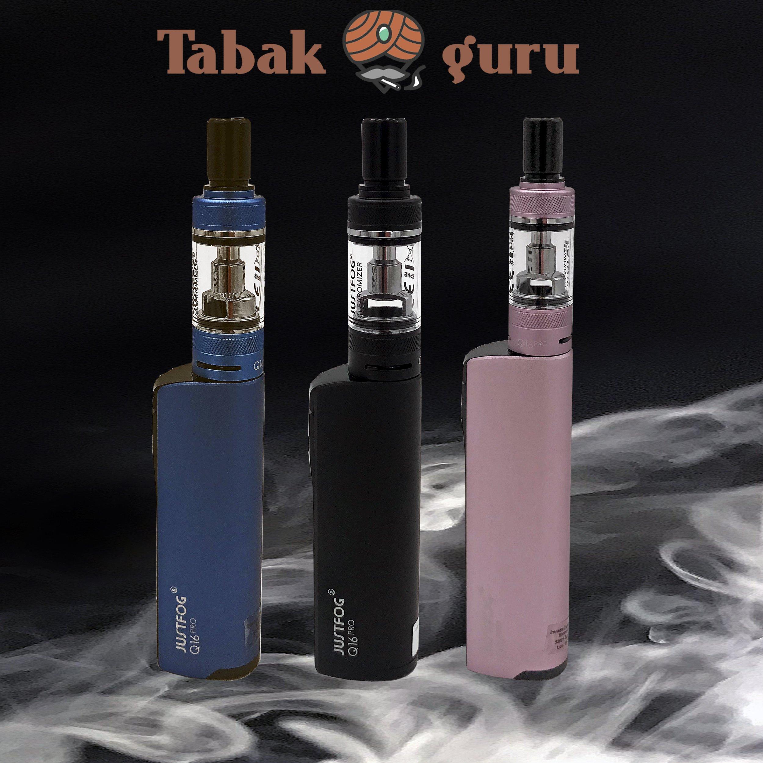 Justfog Q16 Pro Kit E-Zigarette Farbe wählbar + mit oder ohne Coils wählbar