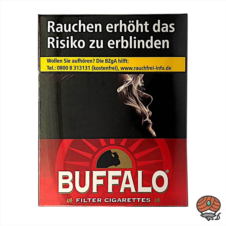 Buffalo Red BP Filterzigaretten 23 Stück