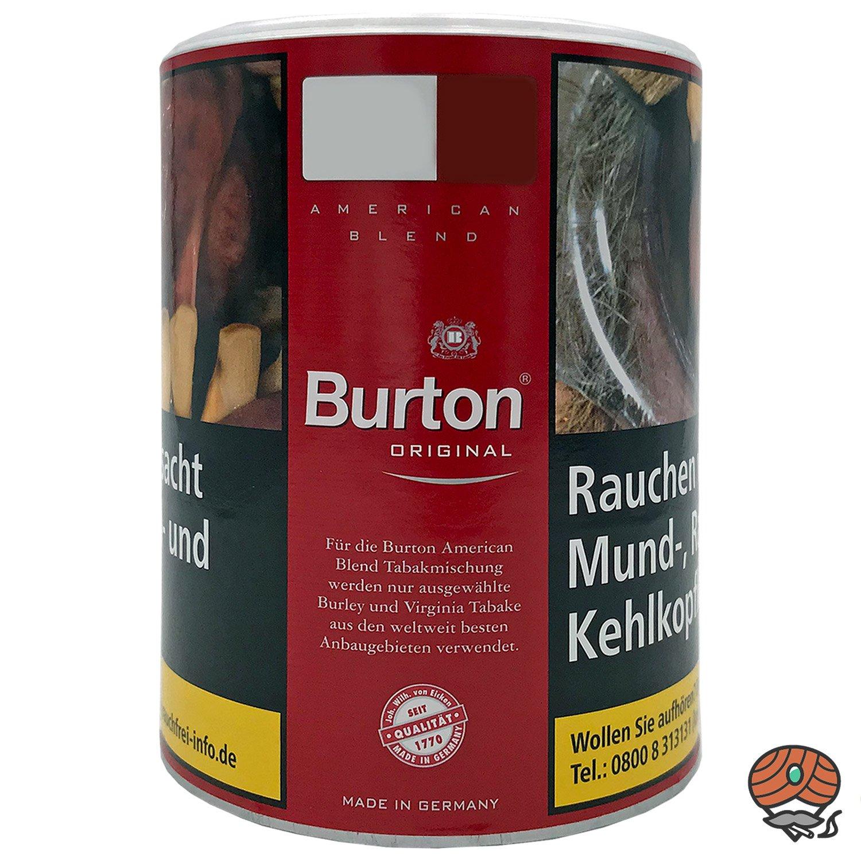 Burton Original Feinschnitt Tabak 120g Dose