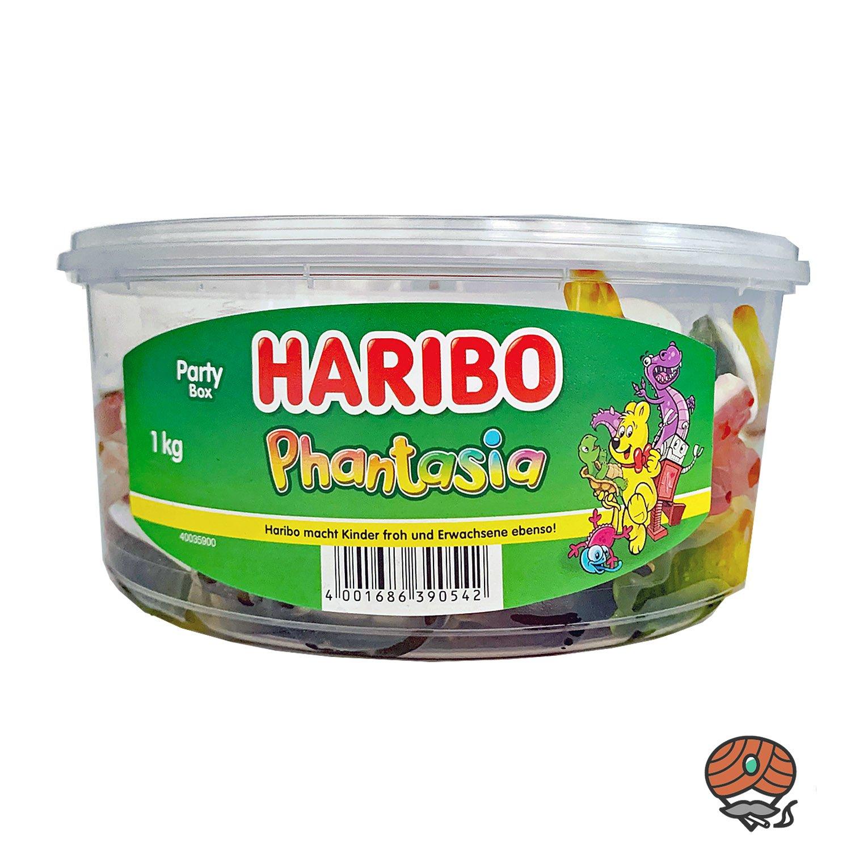 Haribo Phantasia Fruchtgummi- und Schaumzucker Mischung 1kg