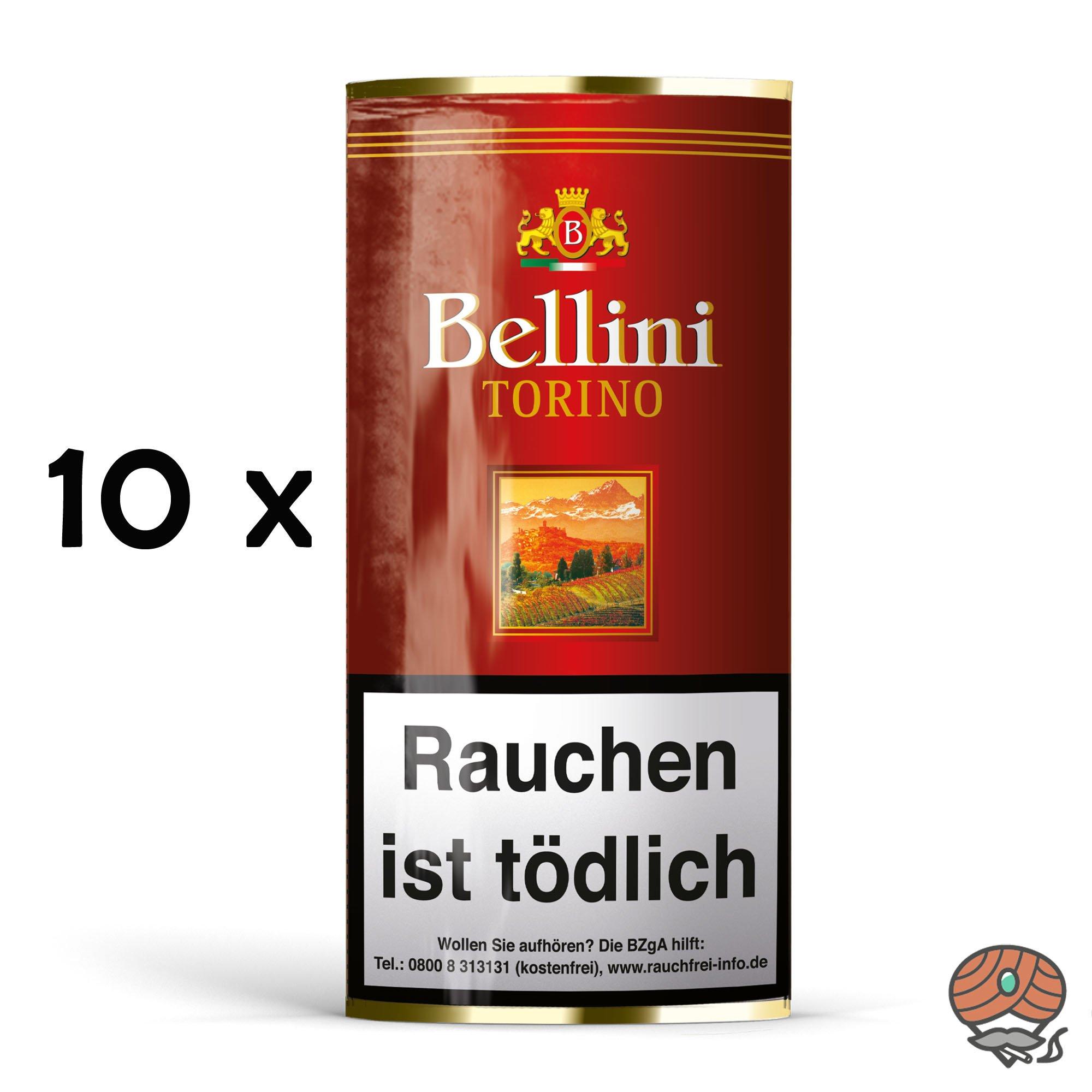 10x Bellini Torino Pfeifentabak á 50g