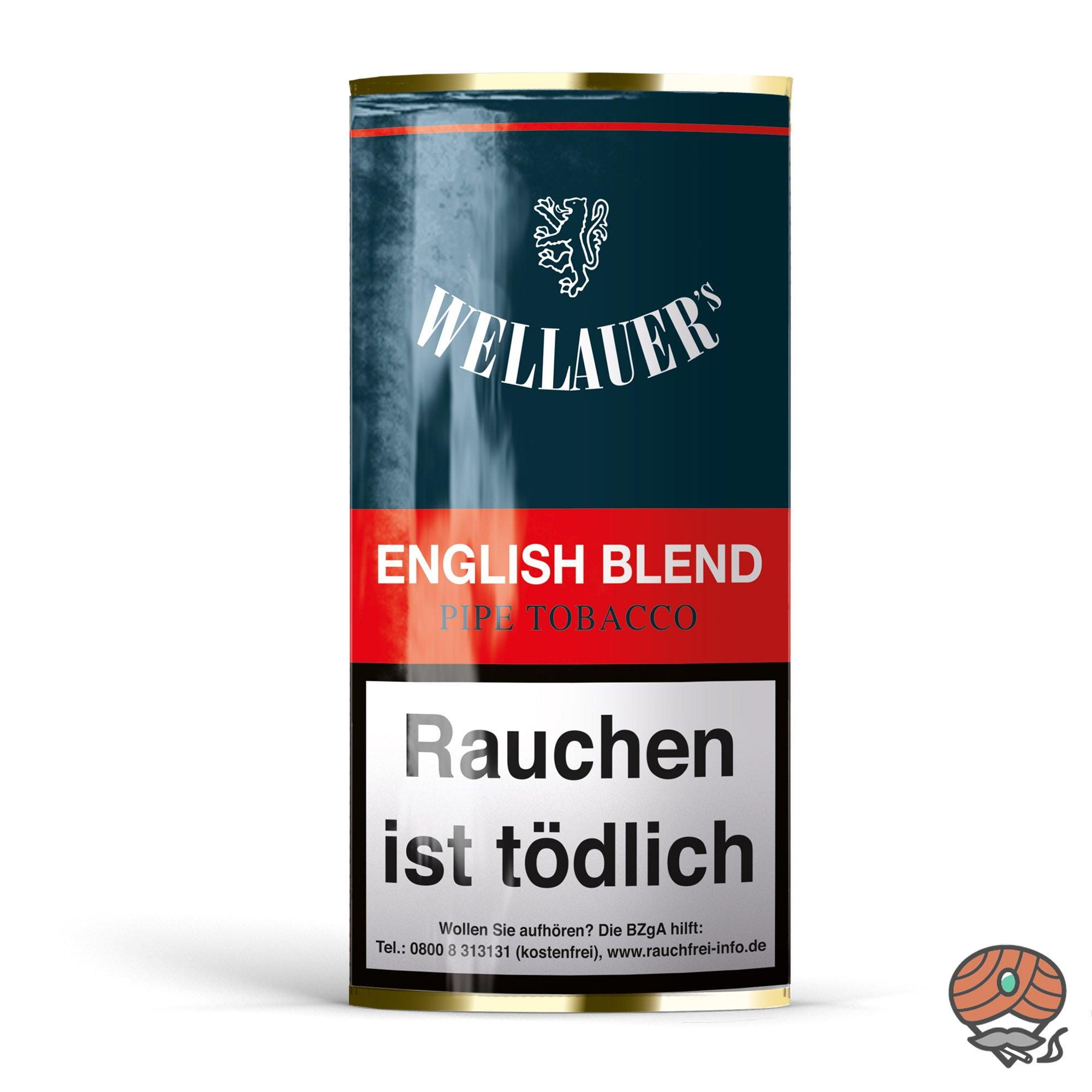 Wellauer´s English Blend Pfeifentabak 50g Pouch