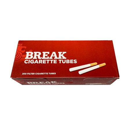 5x Break Original XXL Tabak / Volumentabak Dose à 115g, Hülsen, Zubehör