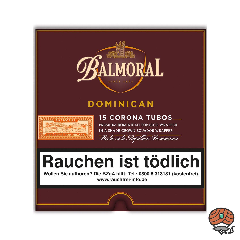 Balmoral Dominican Selection Corona Tubos Zigarren, 15 Stück