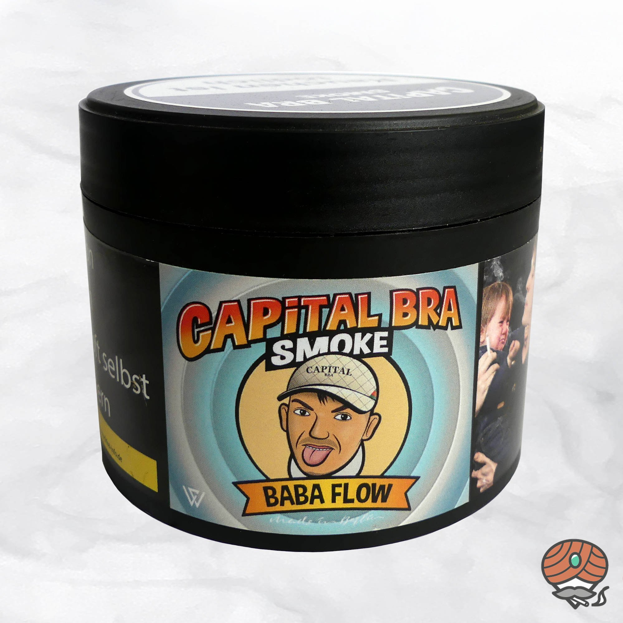 Capital Bra Smoke Shisha Tabak - Baba Flow 200g