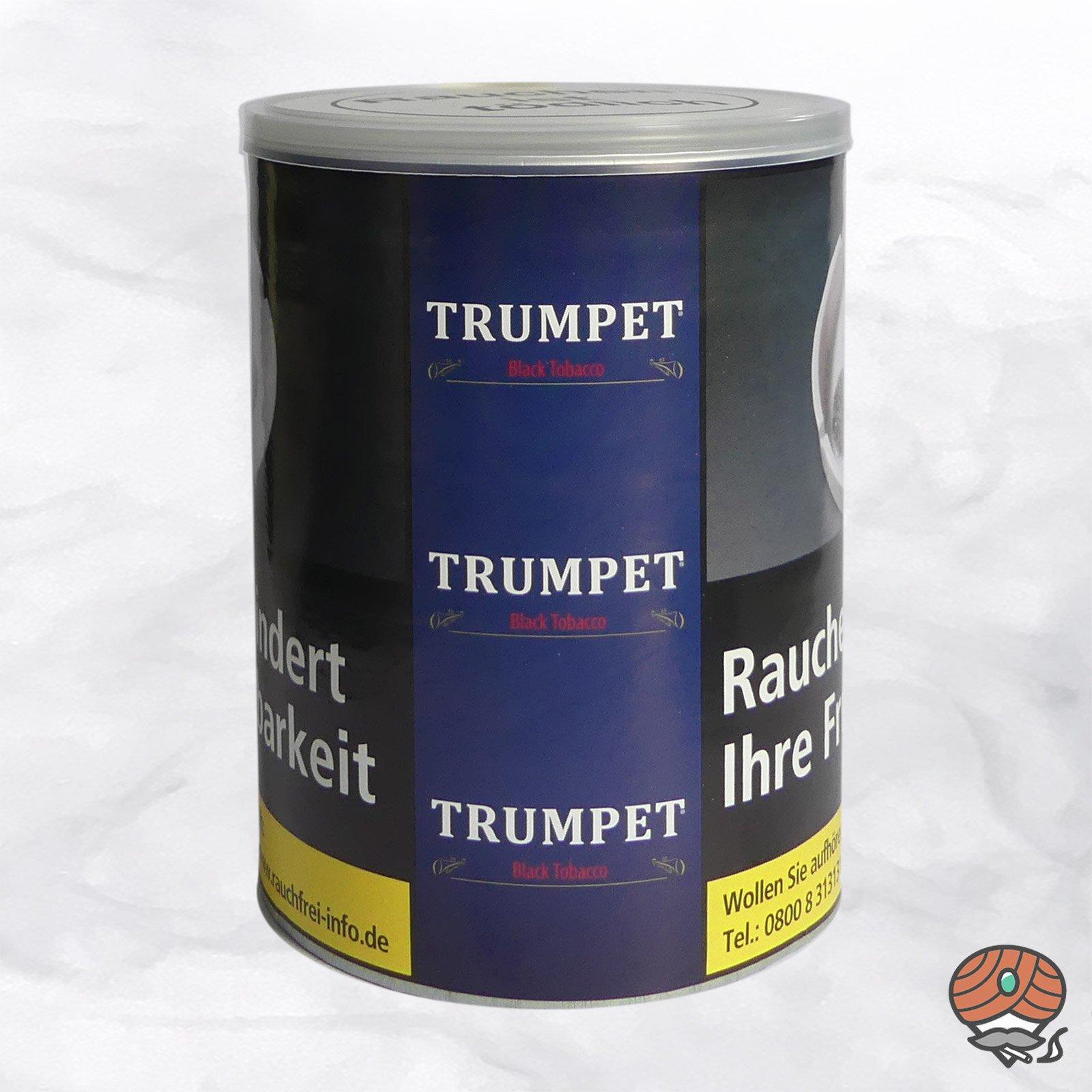 Trumpet Black Tobacco Drehtabak 130 g Dose