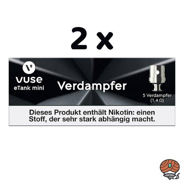 2 x Vuse eTank mini Verdampfer à 5 Stück (ehem. Vype eTank Pro)