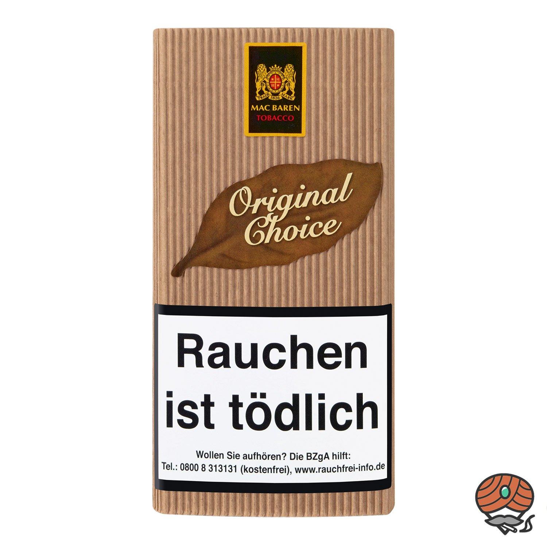 Mac Baren Original Choice Pfeifentabak 40g Pouch