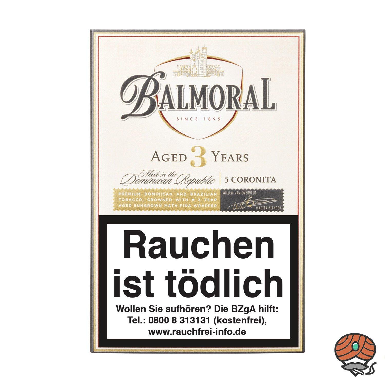 Balmoral Aged 3 Years Coronita Zigarren, 5 Stück