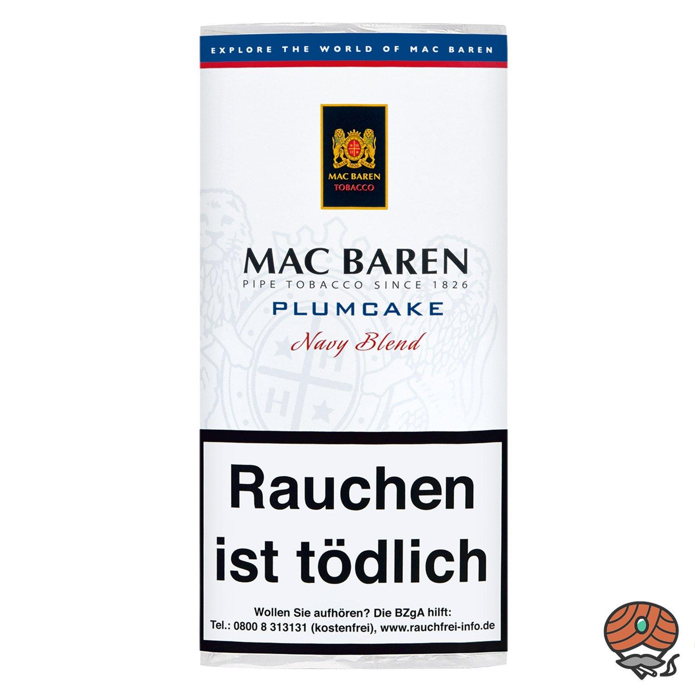 Mac Baren Plumcake Navy Blend Pfeifentabak 50 g Pouch