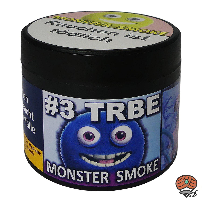 Monster Smoke #3 TRBE 200 g - Shisha Tabak