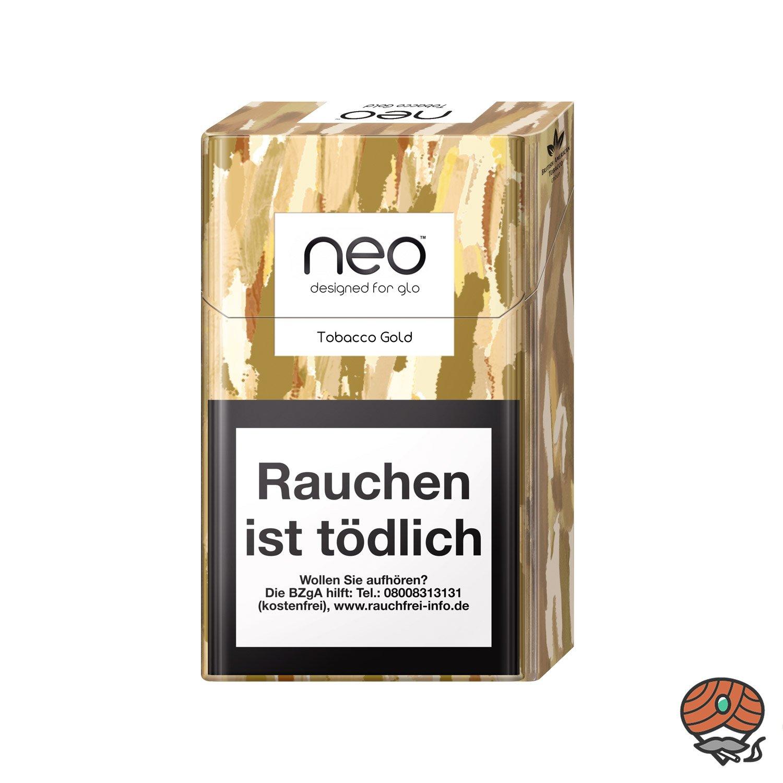 neo Tobacco Gold für GLO - Tabak Sticks 20 Stück