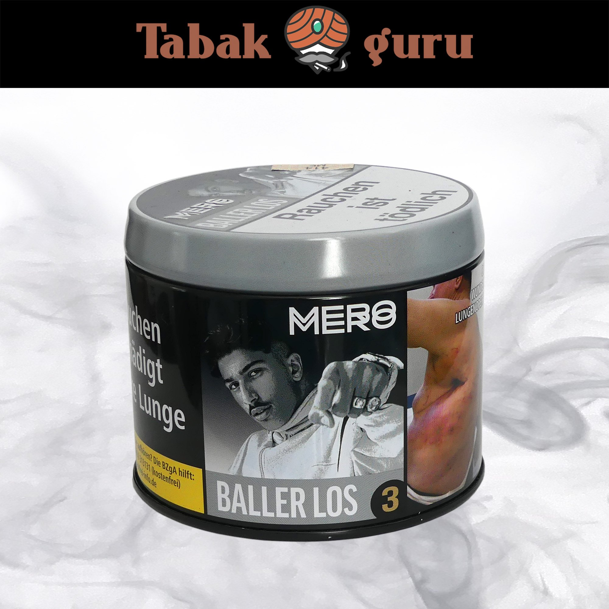 Mero Shisha Tabak - Baller Los 200g