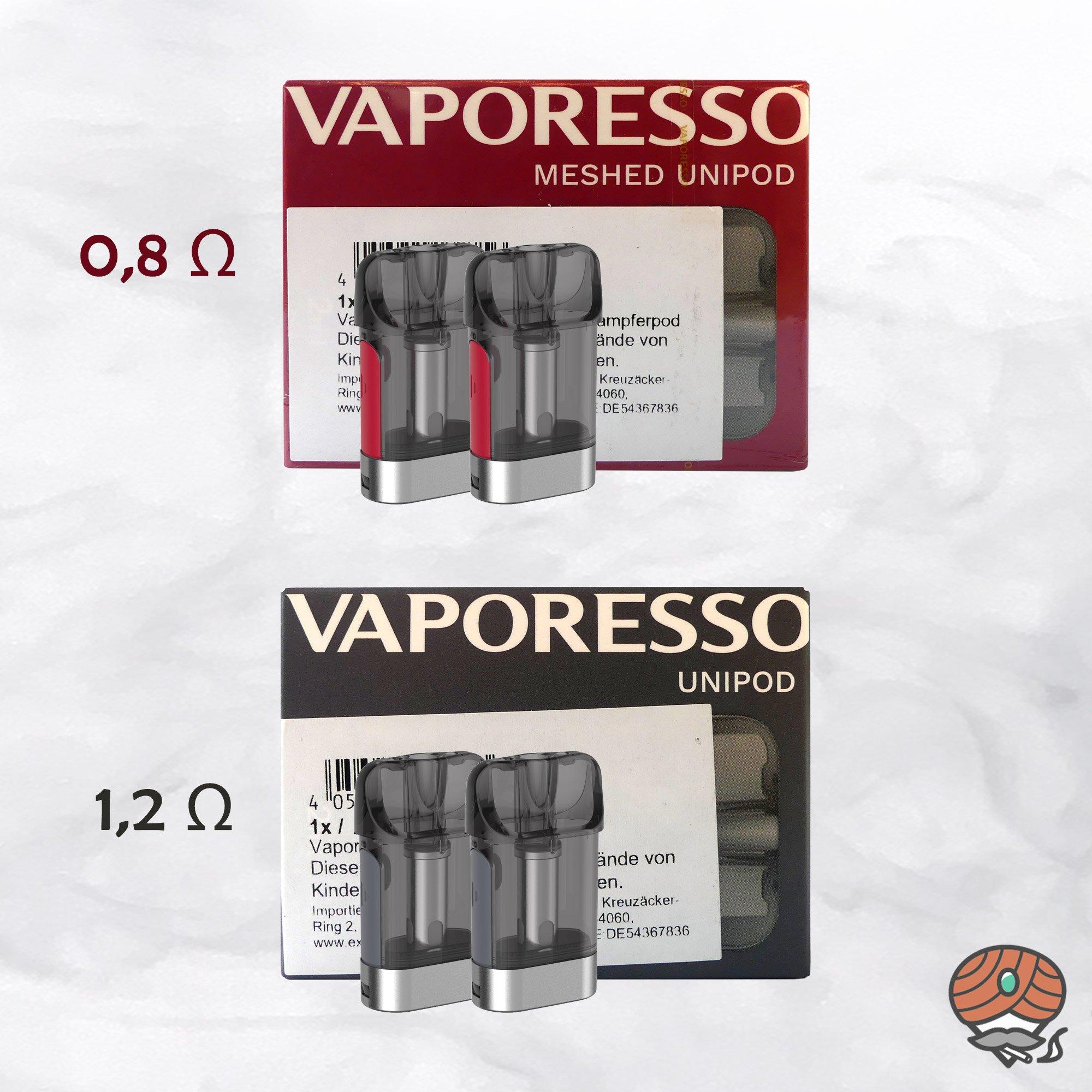 Vaporesso XTRA Pods / UNIPODS 0,8 Ω oder 1,2 Ω wählbar