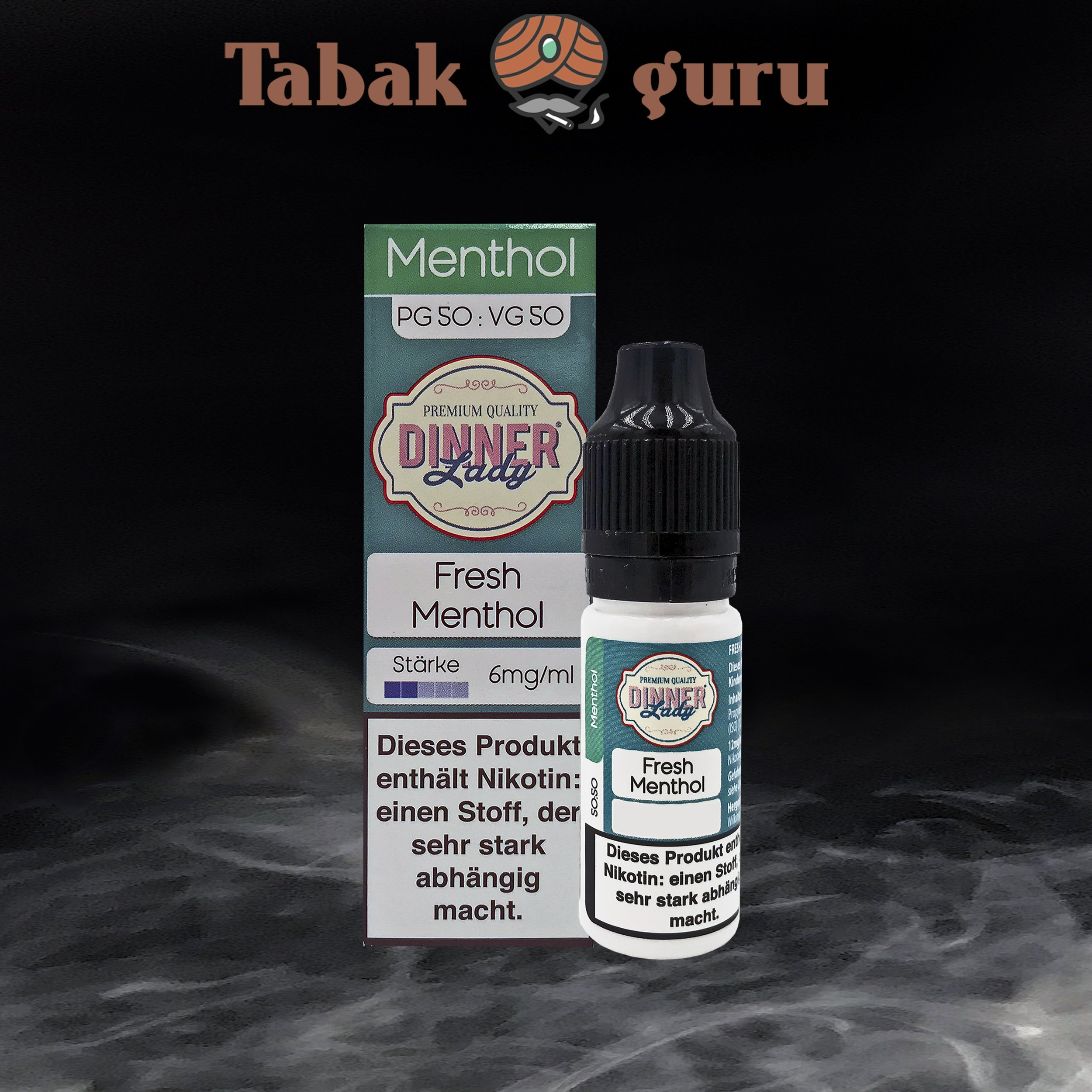 Dinner Lady Fresh Menthol 6mg/ml Nikotin