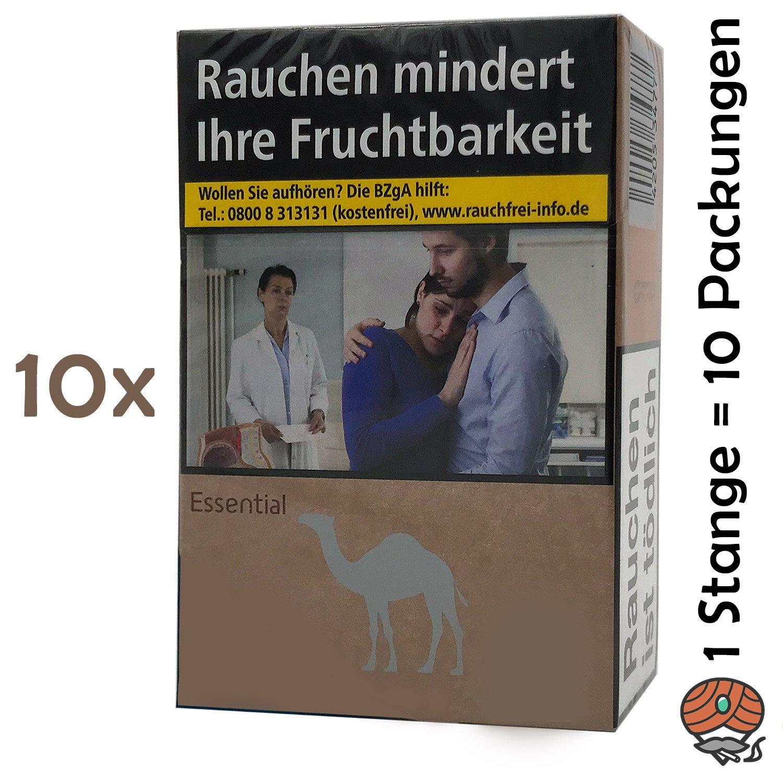 1 Stange Camel Essential Filter Zigaretten 10x22 Stück